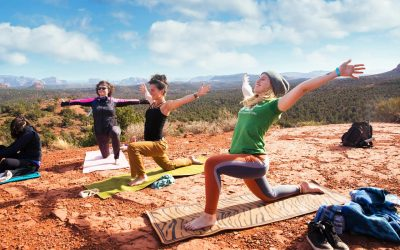 Rise and Shine Yoga on the Vortex